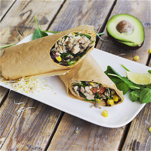 Foto Mr. chicken wrap