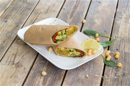 Foto Mr. vegan wrap