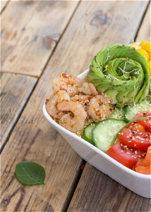 Foto Mr. shrimp salade