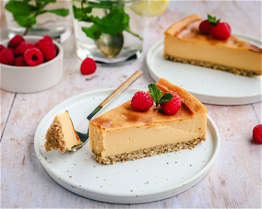 Foto Vegan Cheesecake